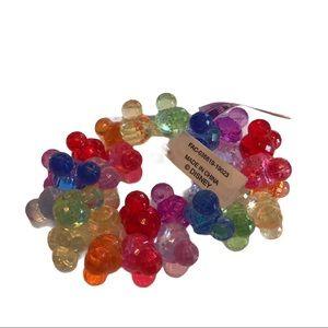 DISNEY Mickey Mouse Plastic Crystal Bracelet